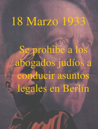 18 Marzo 1933