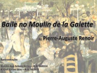 Baile no  Moulin  de  la Galette