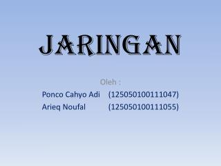 JARINGAN