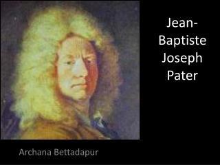 Jean- Baptiste  Joseph Pater