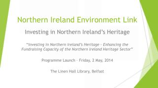 Northern Ireland Environment Link