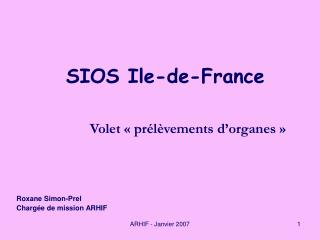 SIOS Ile-de-France