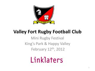 Valley Fort Rugby Football Club