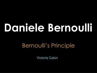 Daniele Bernoulli