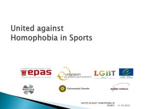 United  against Homophobia  in  Sports
