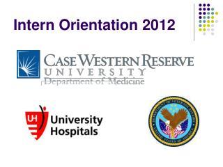 Intern Orientation 2012