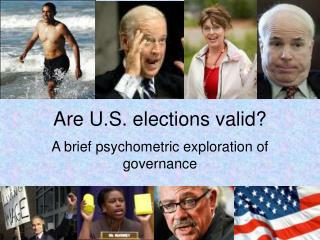 Are U.S. elections valid?