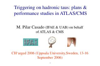 Triggering on hadronic taus: plans & performance studies in ATLAS/CMS
