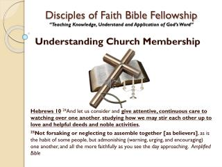 Understanding Church Membership