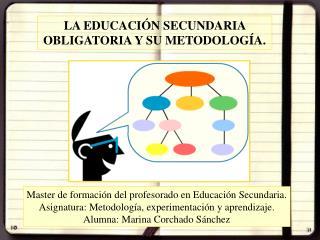 LA EDUCACIÓN SECUNDARIA OBLIGATORIA Y SU METODOLOGÍA.
