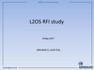 L2OS RFI study