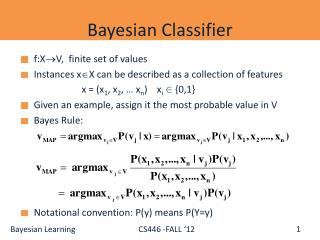 Bayesian Classifier