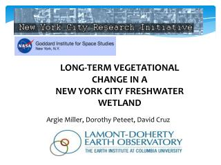 LONG-TERM VEGETATIONAL CHANGE IN A  NEW YORK CITY FRESHWATER WETLAND