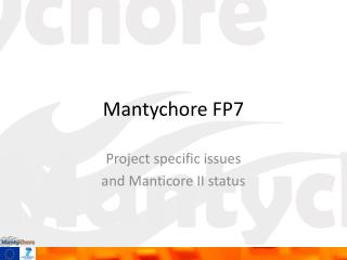 Mantychore  FP7