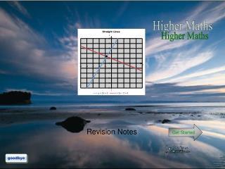 Higher Maths