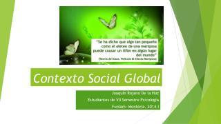 Contexto Social Global