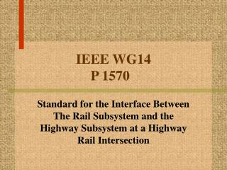 IEEE WG14 P 1570