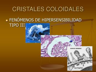 CRISTALES COLOIDALES