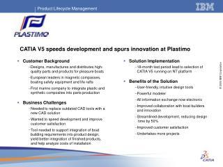 CATIA V5 speeds development and spurs innovation at Plastimo