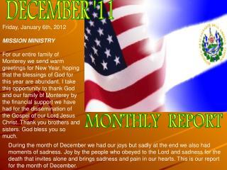 DECEMBER '11