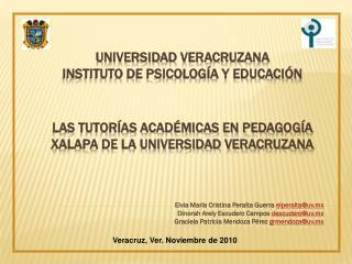 Elvia  Mar�a Cristina Peralta Guerra  elperalta@uv.mx