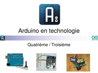 Arduino en technologie