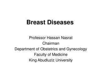Breast Diseases