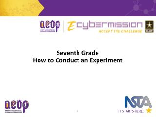 Seventh Grade How to Conduct an Experiment