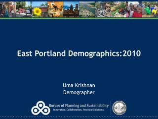East Portland Demographics:2010