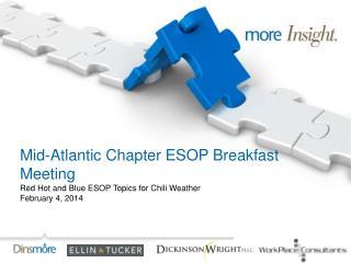 Mid-Atlantic Chapter ESOP Breakfast Meeting