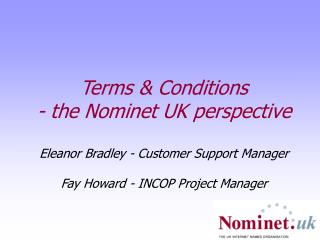 Nominet in a nutshell