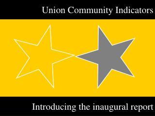 Union Community Indicators