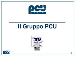 Il Gruppo PCU