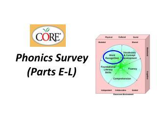 Phonics  Survey (Parts E-L)