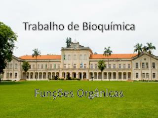 Trabalho de Bioquímica