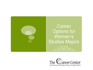 Career Options for Women's Studies Majors