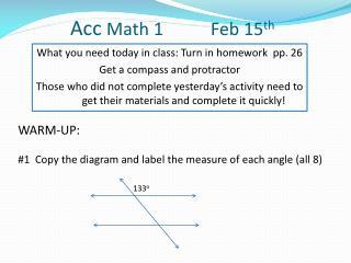 Acc  Math 1 Feb  15 th