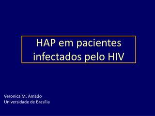 HAP em pacientes infectados pelo HIV