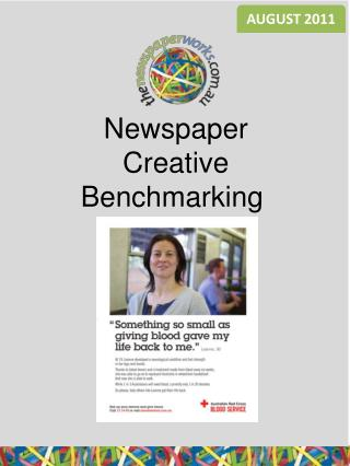 Newspaper Creative Benchmarking