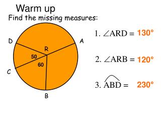 Find the missing measures: