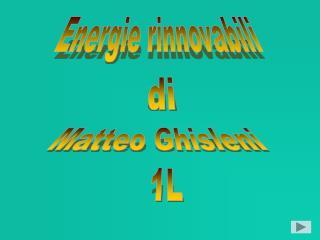 Matteo Ghisleni