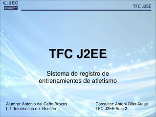 TFC J2EE