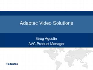 Adaptec Video Solutions