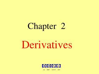 Chapter  2                           Derivatives
