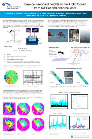 Sea-ice freeboard heights in the Arctic Ocean from ICESat and airborne  laser