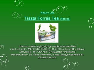 Nature  Life  Tiszta Forrás Tea  (filteres)