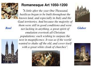 Romanesque Art 1050-1200