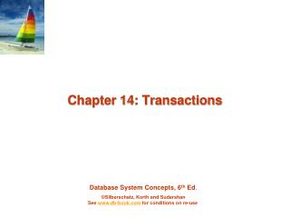 Chapter 14: Transactions