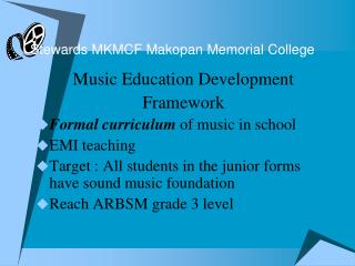Stewards MKMCF Makopan Memorial College