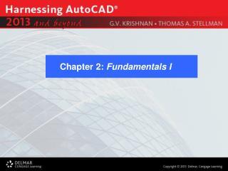 Chapter 2:  Fundamentals I
